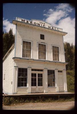 Barkerville - Masonic Hall