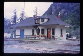 Kwinitsa CNR Station - Along the Skeena