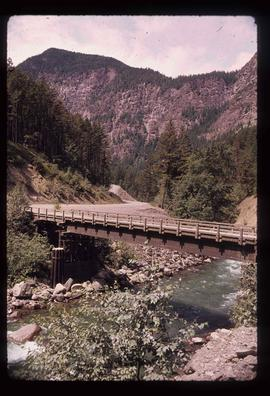 Cayoosh Creek - Bridge
