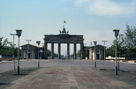 Brandenburg Gate in Berlin, East Germany