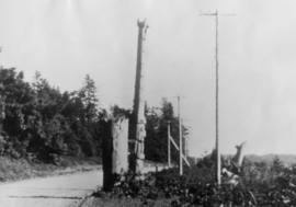 Last totem poles at Masset