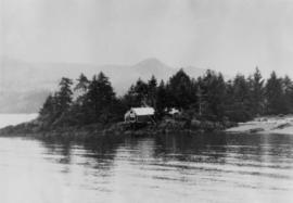 Queen Charlotte Islands museum site at Skidegate