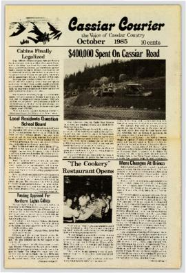 Cassiar Courier - October 1985