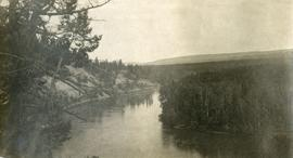 View of Nechako River near junction of Stuart River