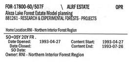 Aleza Lake Forest Estate Model planning