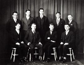 Studio portrait of B.C. Forest Service Research Division staff in Victoria, B.C.