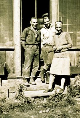 Braham Griffith, George Barnes, and Anne Sansom