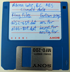 Aleza Lake AES Climate Station Data - Flag Files/Fortran Programs