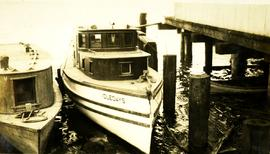 The Idledays boat at dock