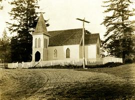 St. Andrew's Church in Sandwick, BC