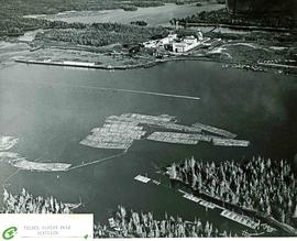 """Prince Rupert Pulp Division"" Aerial View"