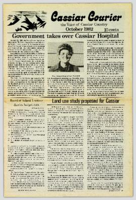 Cassiar Courier - October 1982