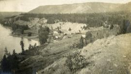 Soda Creek from the hill