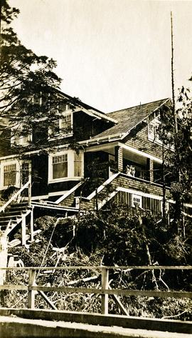 Home of Bertha and W.E. Collison in Prince Rupert, BC, close view