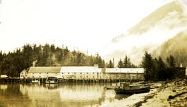 Nass Harbour cannery west side view