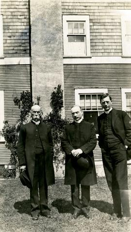 Archdeacon W.H. Collison with Bishop and Archbishop at Prince Rupert, BC