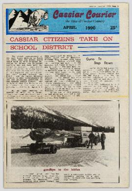Cassiar Courier - April 1990