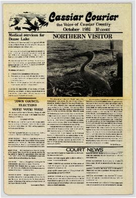 Cassiar Courier - October 1981