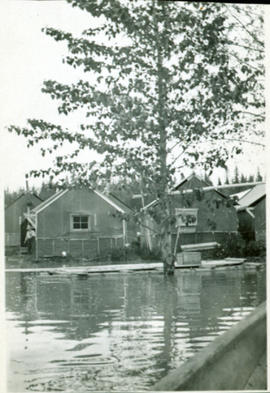 Flooded Railway Camp