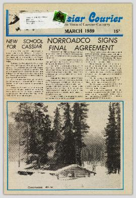 Cassiar Courier - March 1989