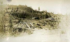 Blackwater telegraph cabin and bridge
