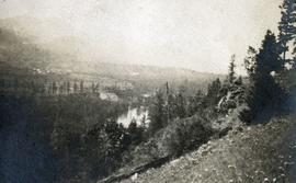 Valley of Kettle River between Cascade, BC and the American Boundary