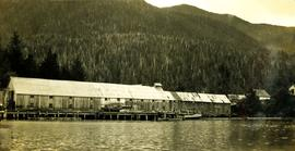 Cannery at Nass Harbour