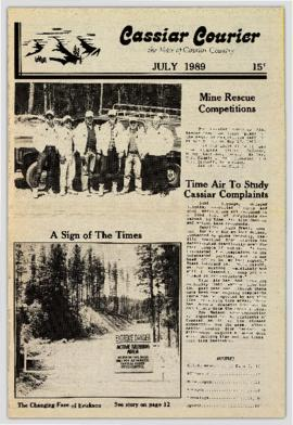 Cassiar Courier - July 1989
