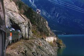 Pacific Great Eastern Railway (PGE) Budd Car from Shalath and Seton Lake to Kelly Lake