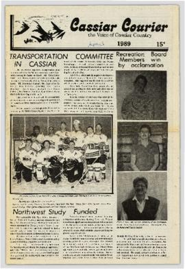Cassiar Courier - April 1989
