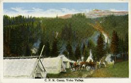 CPR Camp, Yoho Valley