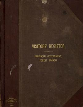 Aleza Lake Forest Experiment Station Visitors' Register