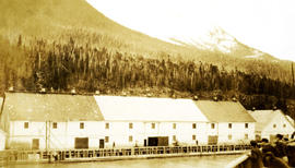 Balmoral Cannery, Port Essington, BC
