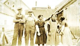Nass Harbour Cannery workers
