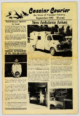 Cassiar Courier - September 1981