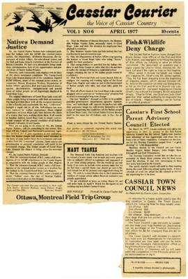 Cassiar Courier - April 1977