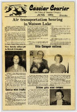 Cassiar Courier - June 1984