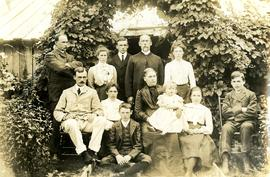 Collison Family Portrait at Kincolith, BC