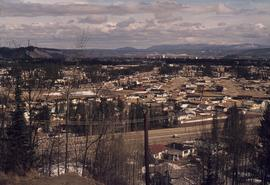 View of Prince George from Cranbrook Hill
