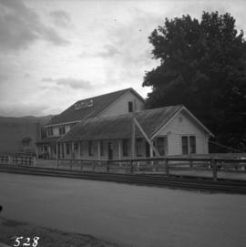 Former CNR station at Youbou on Lake Cowichan