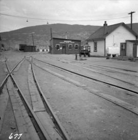 Combined C.N. and C.P.R. wharf at Summerland