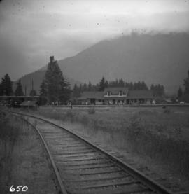 C.N. station at Hope, B.C.