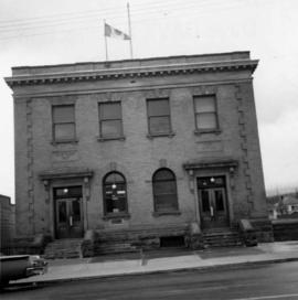 Post office in Cumberland, B.C.