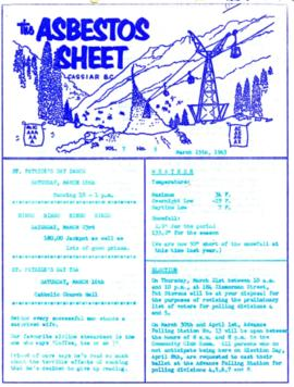 The Asbestos Sheet Mar. 1963