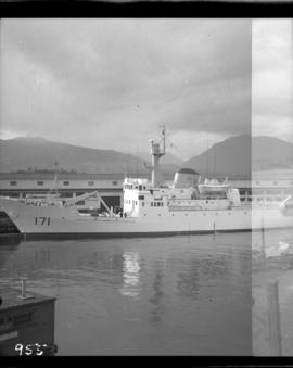 New Canadian Navy Oceanographic vessel in Vancouver