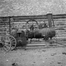 Portable traction engine, Hat Creek Ranch