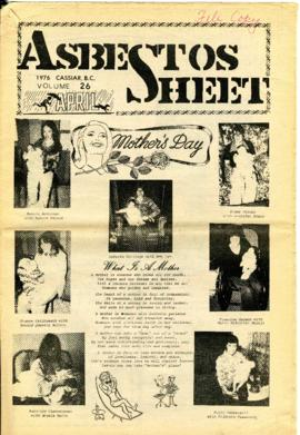 The Asbestos Sheet Apr. 1976