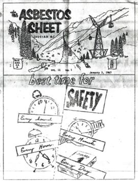 The Asbestos Sheet Jan. 1967