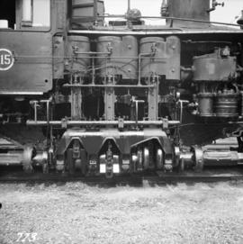 Shay #115 engine in Vancouver