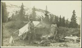 Bob Potts Cooking on Red Deer River